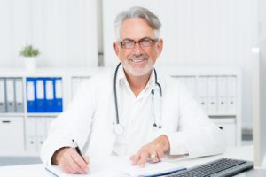 Konsultation beim Strahlentherapeuten